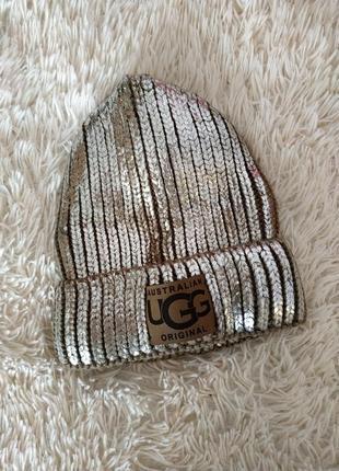 Зимняя шапка ugg1 фото