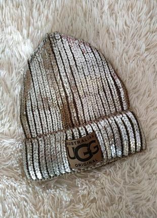 Зимняя шапка ugg2 фото