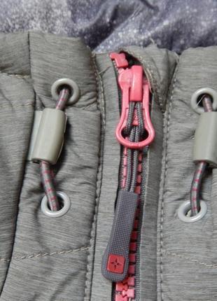 Брендовая женская демимезонная куртка от mountain warehouse. размер 2xl - 3x4 фото