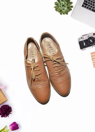 Туфли из эко-кожи office