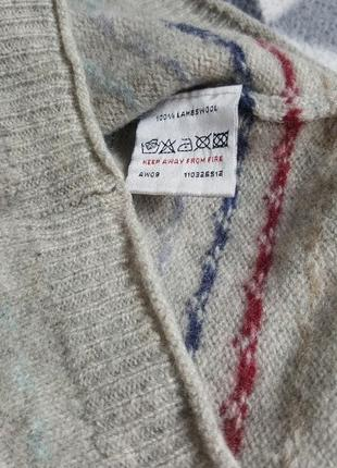 100% шерсть жилетка на рубашку или футболку3 фото