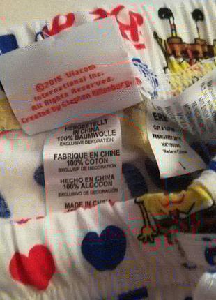 Штаны домашние губка боб nickelodeon l5 фото