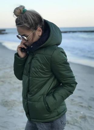 🌿 демисезоная куртка осень - весна4 фото