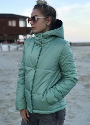 🌿 демисезоная куртка осень - весна6 фото