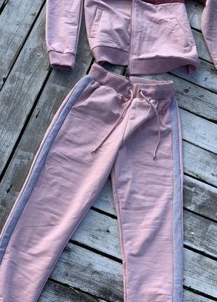 Крутой яркий тёплый прогулочный костюм хлопок7 фото