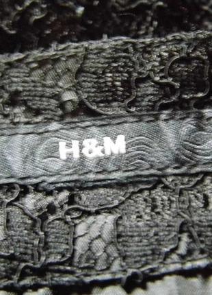 Кружевное платье h&m6 фото