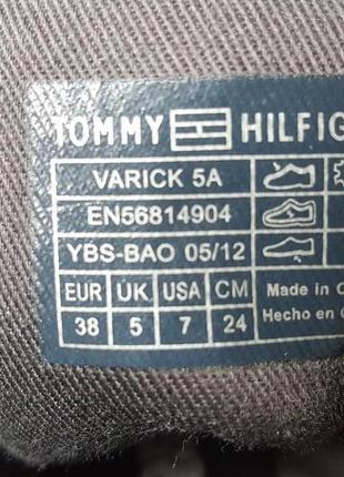 Стильные женские ботинки tommy hilfiger original7 фото