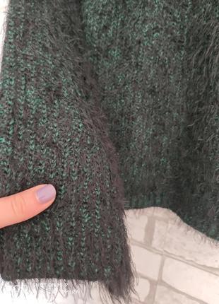 Вязаный свитер. свитер травка4 фото