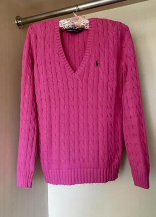 Шикарный свитер, пуловер  от ralph  lauren  оригинал