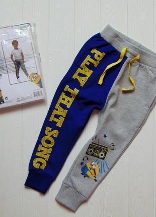 Disney. размер 2-3 года. новые яркие спортивные штаны для мальчика