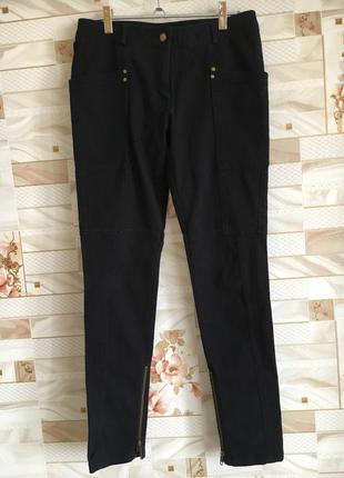 Плотные чёрные джинсы распродажа вещи до 100грн