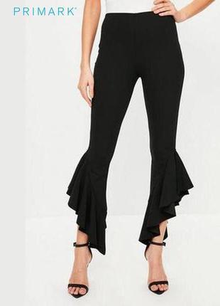 Трикотажные штаны с оборками primark
