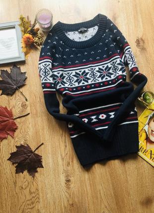 Удлинённый свитер,15%шерсть