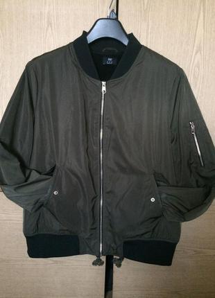 Утепленная куртка/ бомбер f&f
