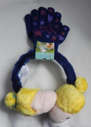 Комплект наушники + перчатки disney