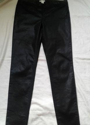 Модные джинсы под кожу размер 12