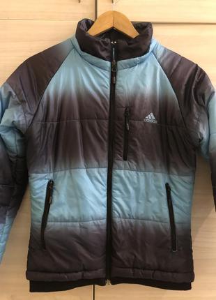 Куртка adidas осень -зима (тёплая )