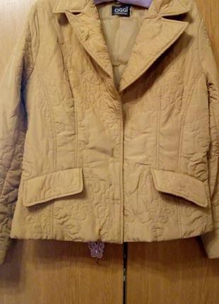 Осенняя весенняя курточка пиджачок на подкладке