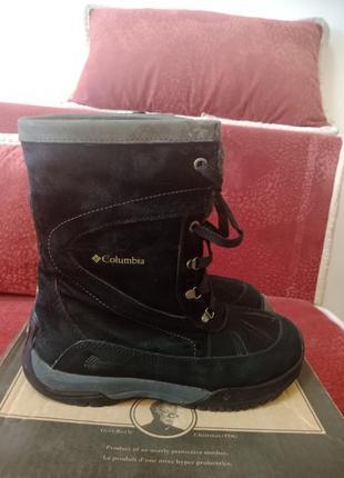 Зимние термо ботинки сапоги columbia 37й размер