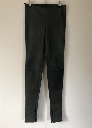 Balenciaga кожаные штаны