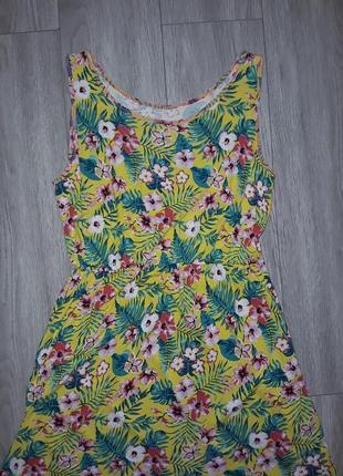 Яркое летнее повседневное платье, яркий летний сарафан