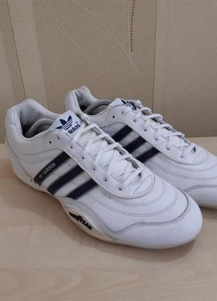 Кожаные кроссовки adidas goodyear размер 44
