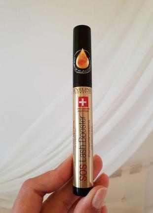Комплексная сыворотка для ресниц с маслом аргании 5 в 1 eveline cosmetics sos lash booster