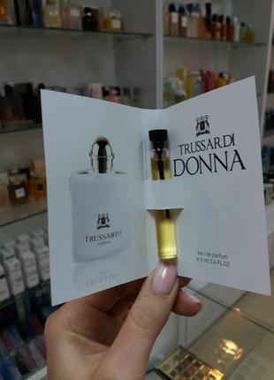 Trussardi donna parfum пробнік / пробники / духи / парфюм !!