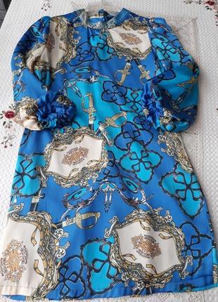 Платье прямое sogo атласное, обмен