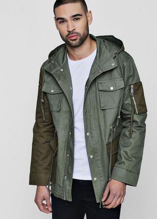 Sale куртка парка мужская boohoo