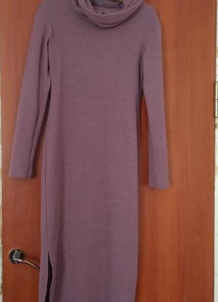 Теплее платье molegi