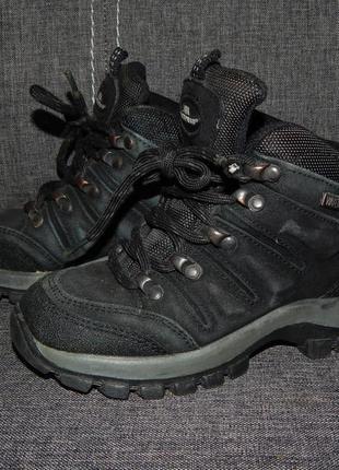 Термо-ботинки  trespass waterproof (оригинал) кожа р.29(18.5см)