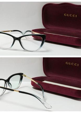Очки для имиджа с защитой от uv. оправа для вставки линз!
