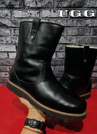 Кожаные ботинки сапоги ugg australia men's stoneman boots оригинал