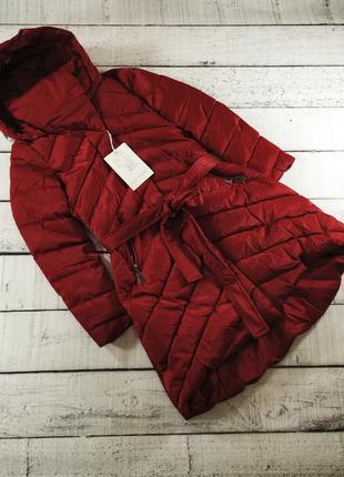 Пуховик пальто на синтапоне зимняя куртка monte cervino