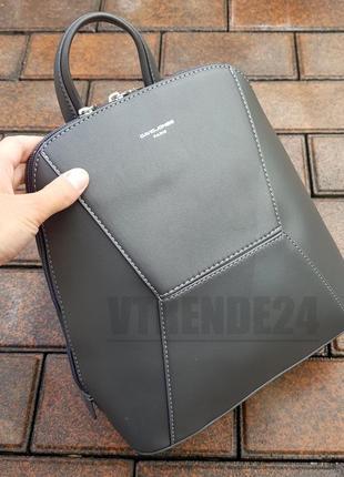 Бесплатная доставка #5709-2 grey стильный каркасный женский рюкзак