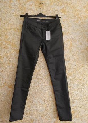 Новые брюки под кожу из италии