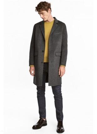 Шерстяное пальто h&m edition с кашемиром !  premium quality !