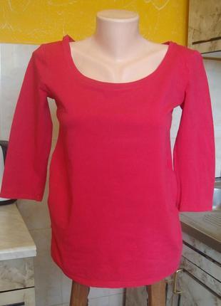 Реглан малиновый блузка