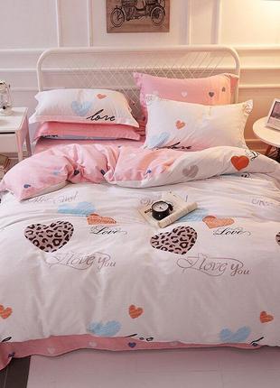 Полуторный, двухспальный, евро, семейный комплект постельного белья