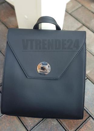 Бесплатная доставка #006 black стильный строгий брендовый рюкзак высокого качества!