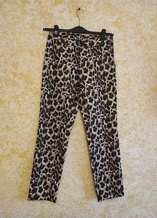 Новые брюки леопардового принта