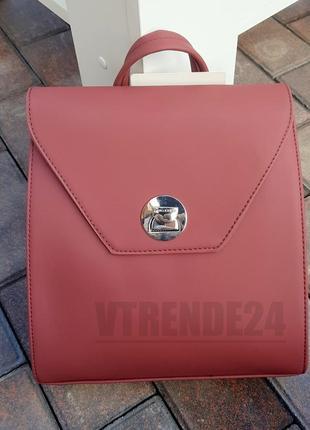 Бесплатная доставка #006 red стильный строгий брендовый рюкзак высокого качества
