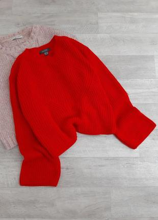 Красный свитер primark