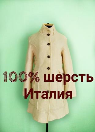 Пальто из валяной шерсти италия
