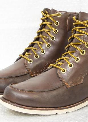 Ботинки мужские кожаные  timberland размер 44-45 стелька 28,5 см