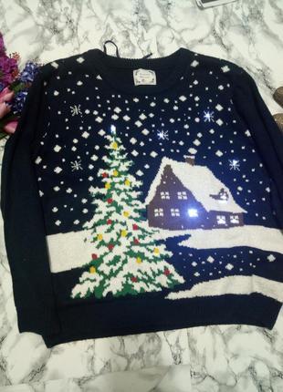 Светящиеся свитер