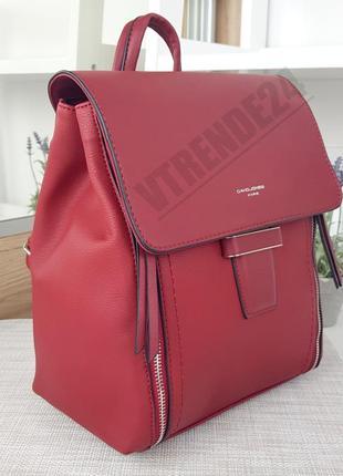 Бесплатная доставка #5494 red вместительный стильный женский рюкзак!