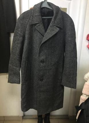 Тренд! мужское пальто,шерсть.