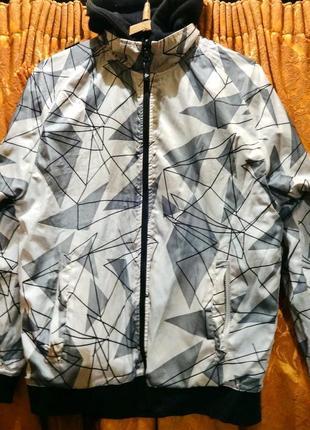 Sale -50% двухсторонняя спортивная куртка, сноубордическая, лыжная (dunlop sport primark)